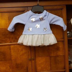 Juicy Couture Blue & Silver Leggings Set Size 6/9